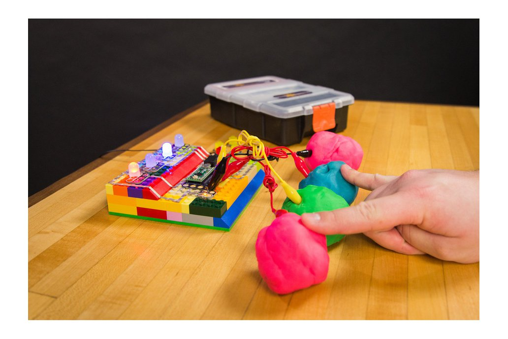 Crazy Circuits with Squishy Circuits Kit 1