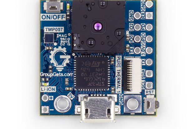 PureThermal 1 with Radiometric FLIR Lepton 2.5