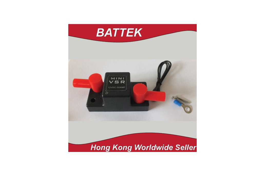 ATV UTV Motorcycle Smart Battery Isolator Mini VSR 4