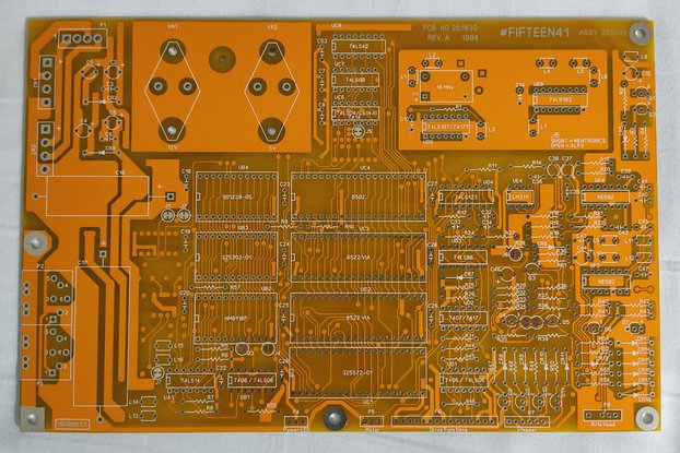 Commodore 1541 Disk Drive Replica PCB