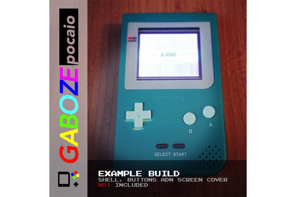 Gaboze Pocaio - Game Boy Pocket All In One 13