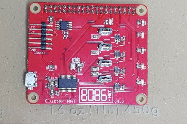 Cluster HAT for Raspberry Pi [OLD versions]