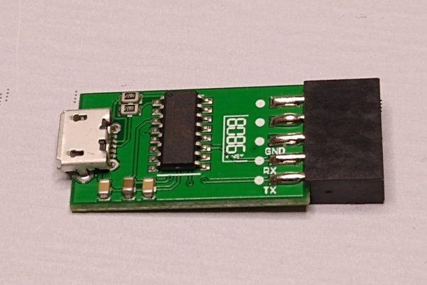 USB CDC Console Stub