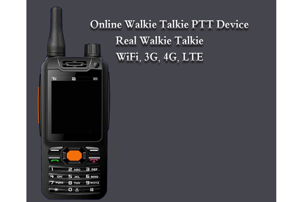 Android PTT Walkie Talkie Device 2