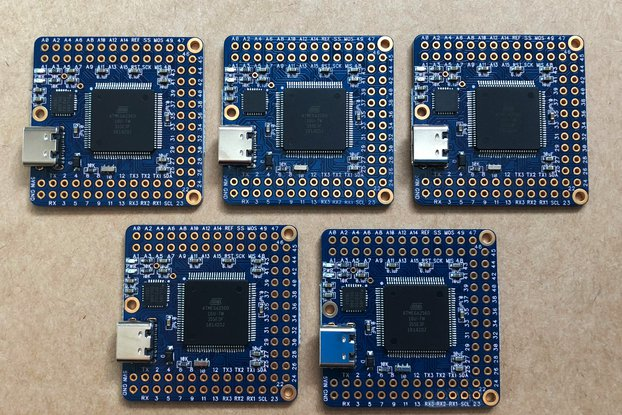 5-Pack Naked Mega 4 Arduino compatible board