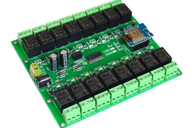 16 Channel WIFI I2C Electromagnetic Relay module