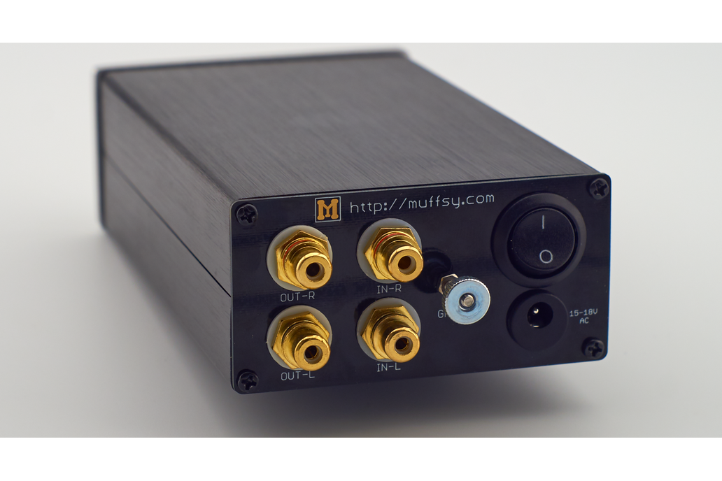 Muffsy Phono Preamp Back Panel 1