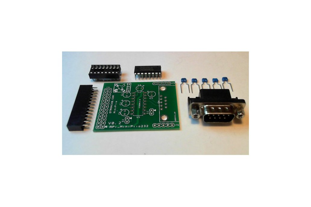 Raspberry PIIO - MiniPiio RS232 board (Kit) 1