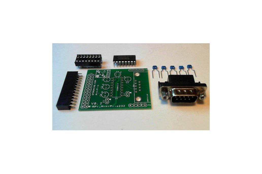 Raspberry PIIO - MiniPiio RS232 board (Kit) 1