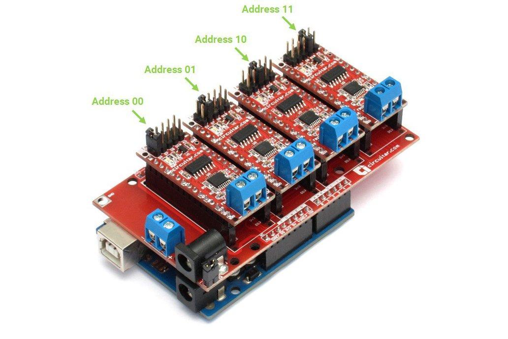 Termopar Nanoshield - MAX31856 Thermocouple Module 4