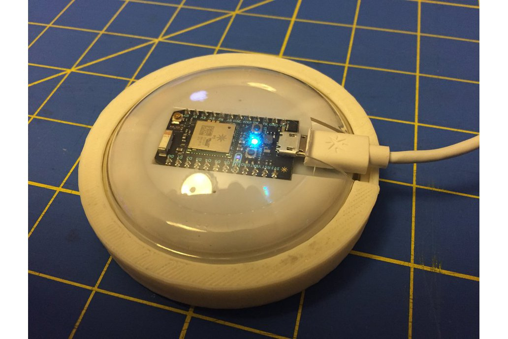 Particle Internet Button Mount 1
