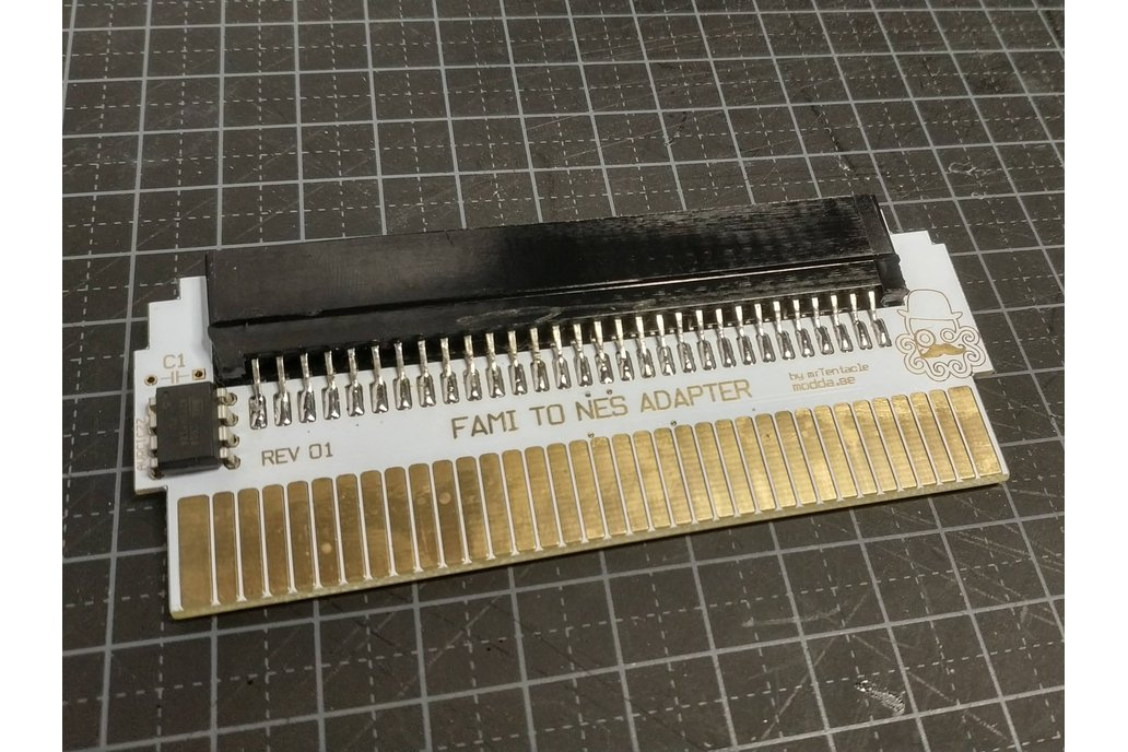 60 to 72 Pin Adapter for Famicom to NES 2