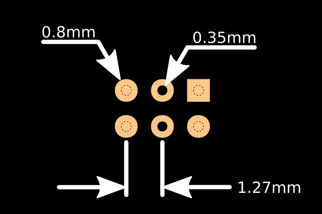 Tiny AVR-ISP pogo-pin programming adapter 5