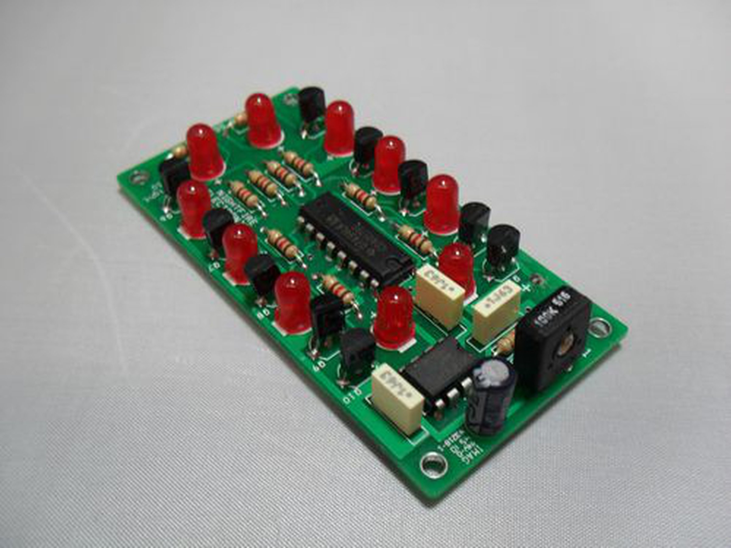 Circui Continue Readin Led Sequencers All About Celebrities Christmas Lights Circuit Ledandlightcircuit Diagram Sequencer With 4017 Decade Counter Chaser Kit 1478 2