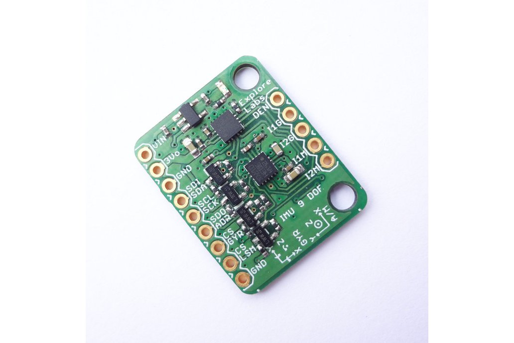 9 DOF IMU L3GD20H + LSM303 Breakout Board 5V Ready 1