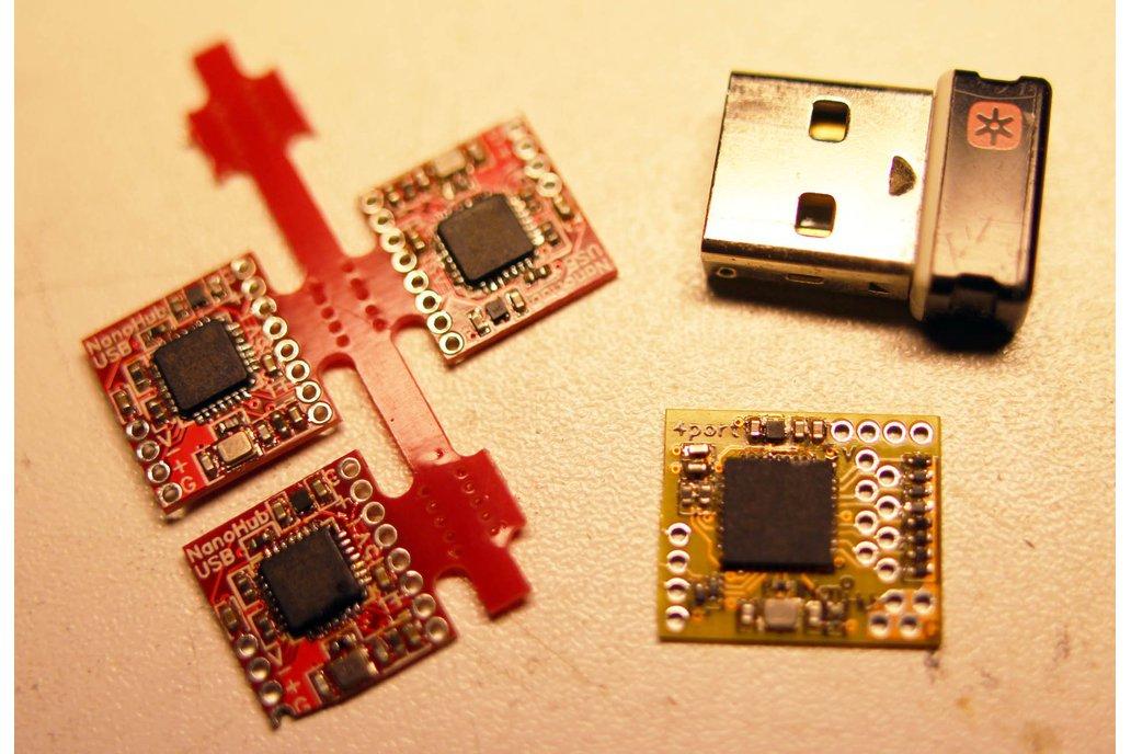 4-port NanoHub - tiny USB hub for hacking projects 2