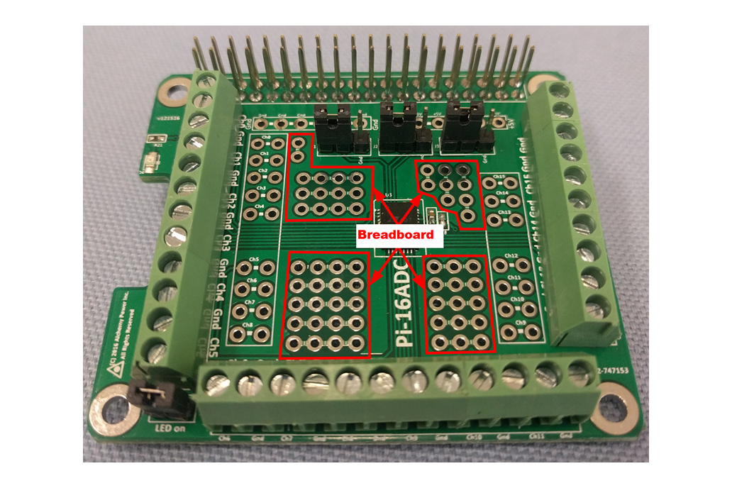 Pi-16ADC - 16 Channel, 16 bit ADC 6