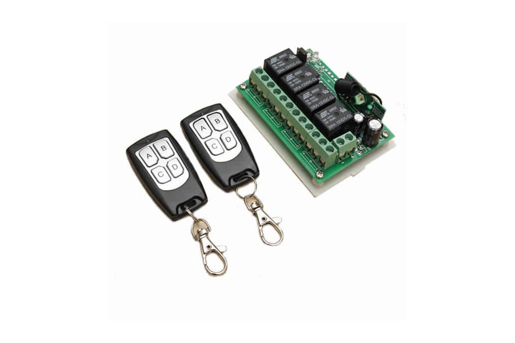 12V 4CH Channel 315Mhz Wireless Remote Control 1
