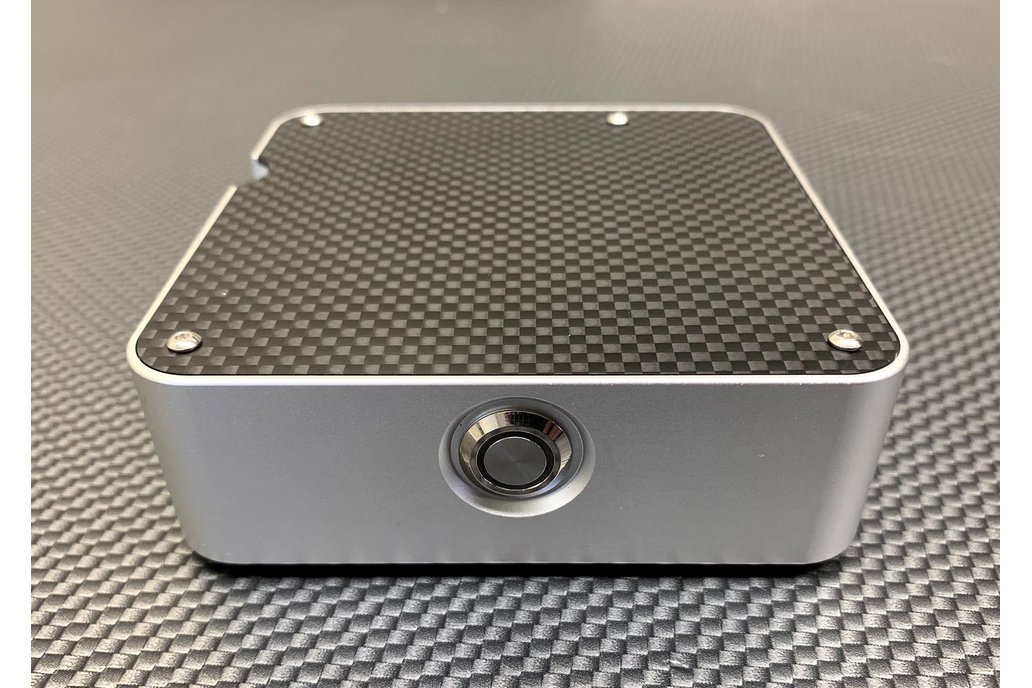 Carbon Fiber and Billet Aluminum Raspberry Pi Case 1