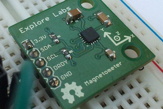 HMC5883L 3-Axis Magnetometer Breakout Board