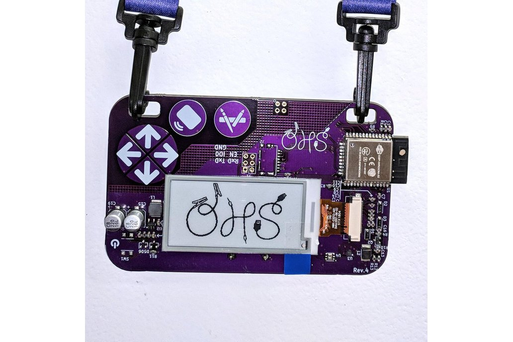 Open Hardware Summit 2018 badge 1