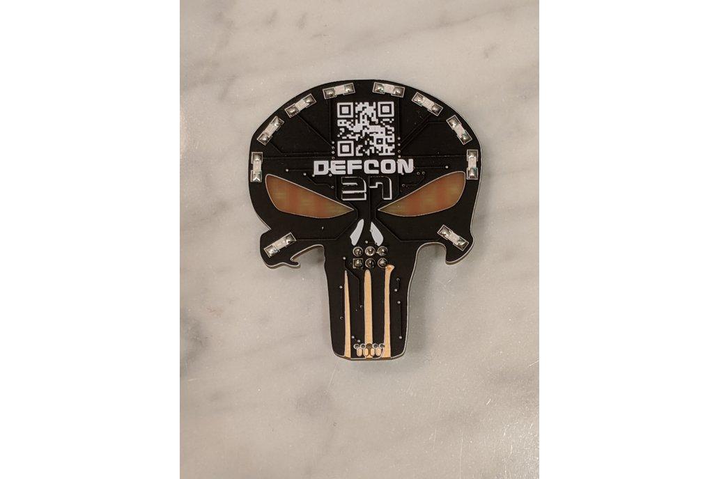 "Team ID64F ""Punisher"" Badge SAO 1"