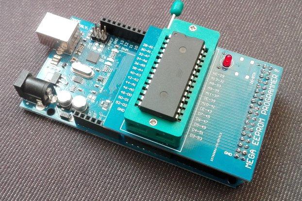EEPROM programmer Arduino MEGA shield