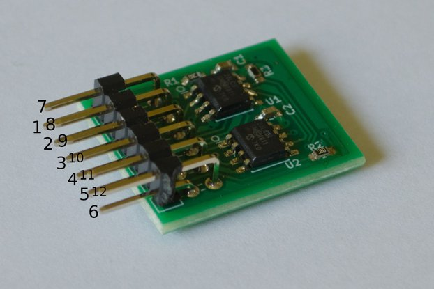 SPI RAM 8Mb Memory Module PMOD