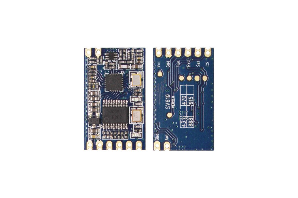 SV610 100mW Embedded  RF Transceiver Module Kit   1