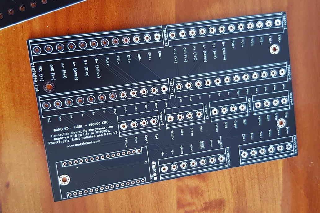 MORPH-CNC6600 - NEMA23 GRBL CNC UPGRADE 1