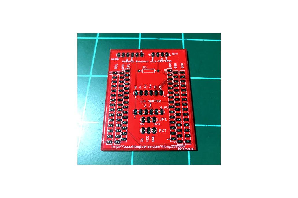 NodeMCU Breakout Board 1