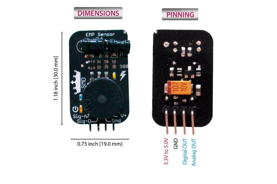 EMP sensor, detect lightning and other phenomena !
