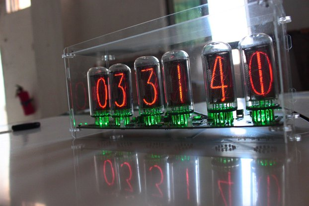 Diy Kit - NIXT CLOCK - without tubes IN18 nixie