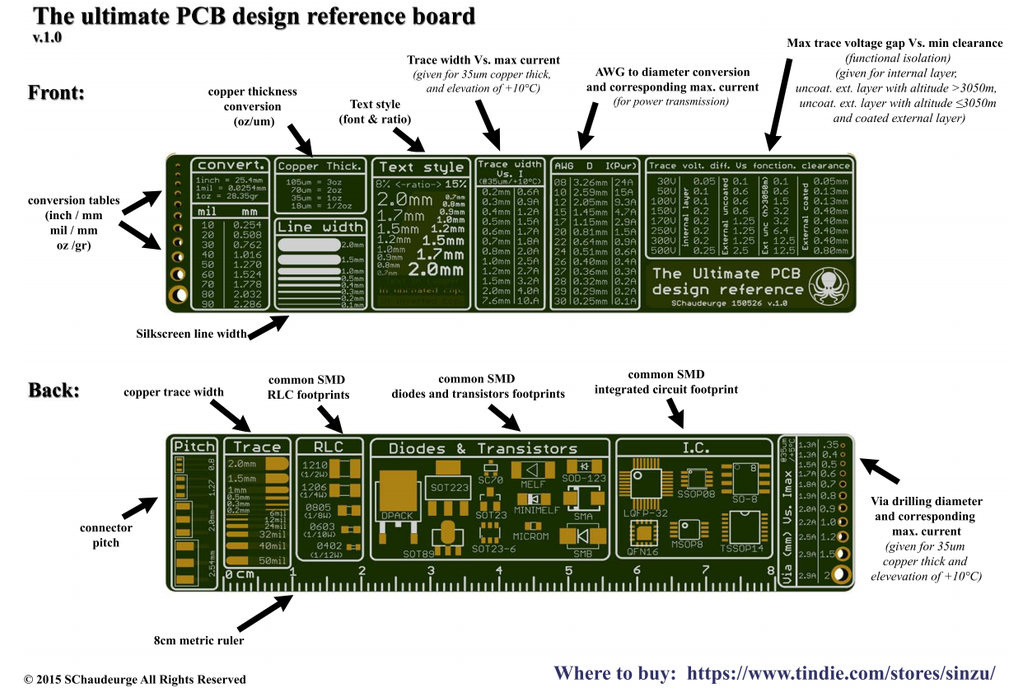 The Ultimate PCB ruler 6