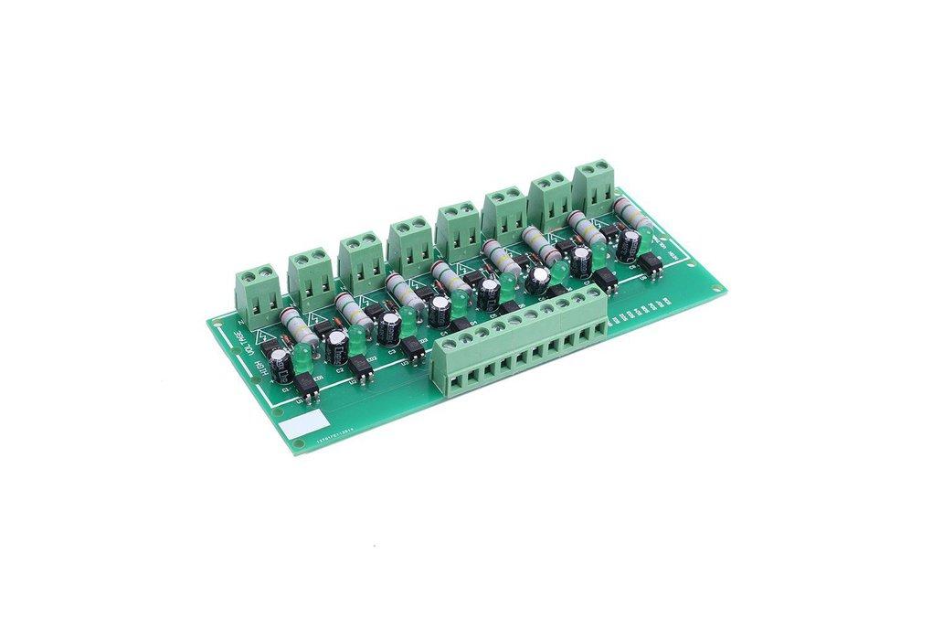 8-Bit PNP Optocoupler Isolation Module_GY18567 1