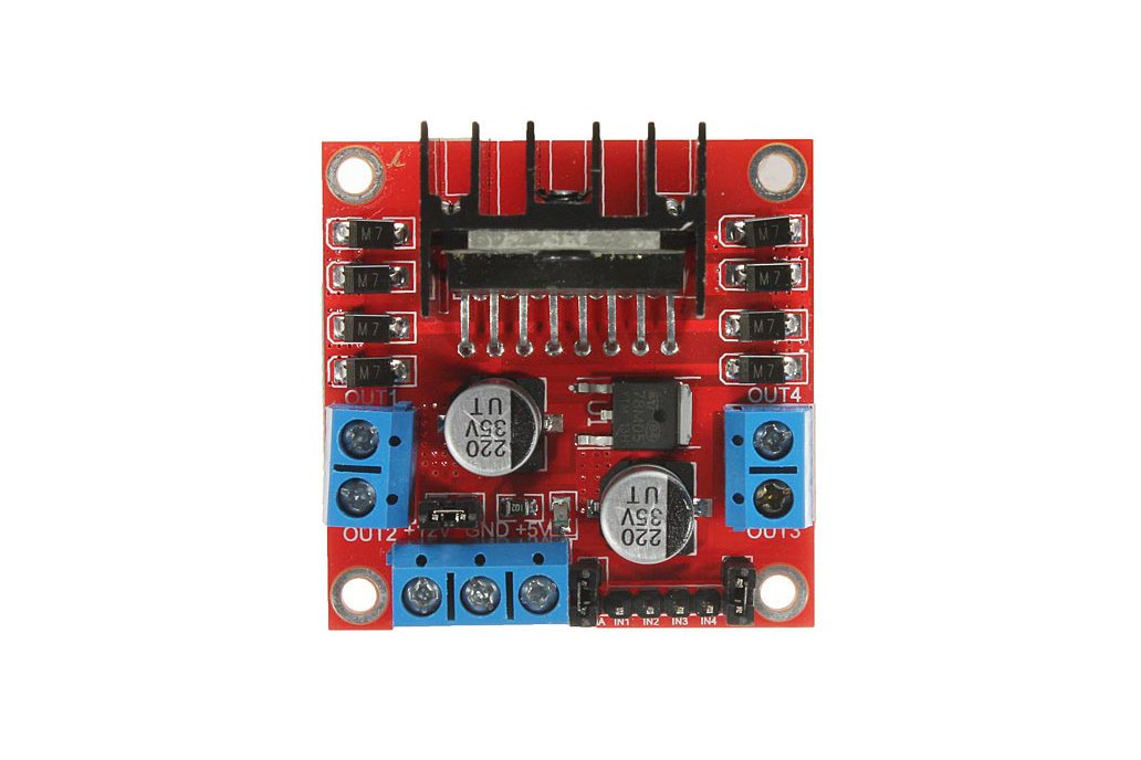 L298N Dual H Bridge DC Stepper Motor Driver Module Controller Board For Arduino 3