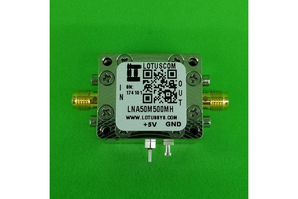 Amplifier LNA 0.9dB NF 50MHz to 500MHz 1