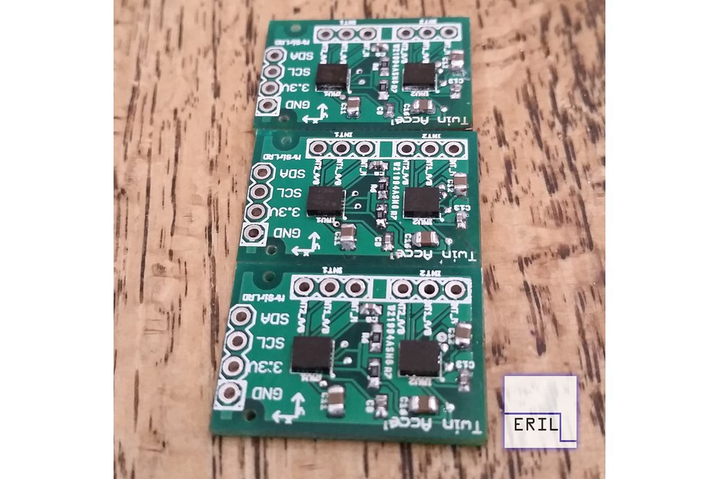 Dual LSM9DS1 IMU breakout board Acc/Gyro/Mag 1