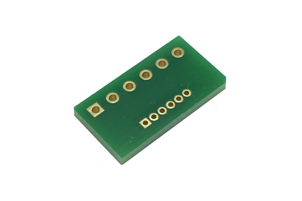 2.54mm Pitch to 1.27mm Pitch 6-pin Adapters 2