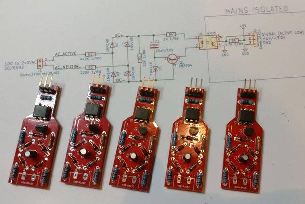 Isolated Low Power AC Zero Cross Detector