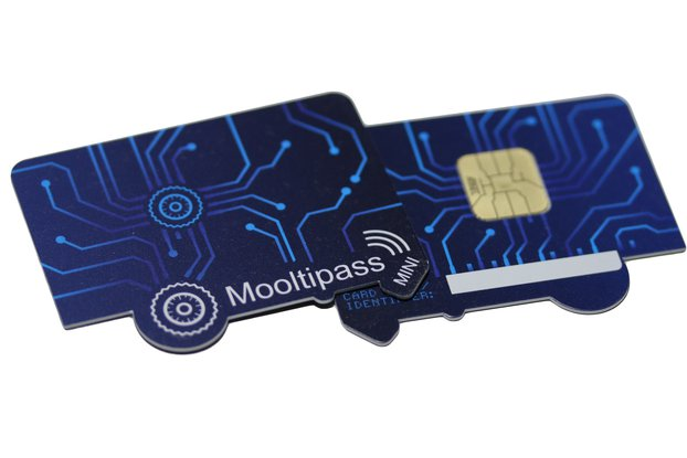 Mooltipass Mini BLE Cards