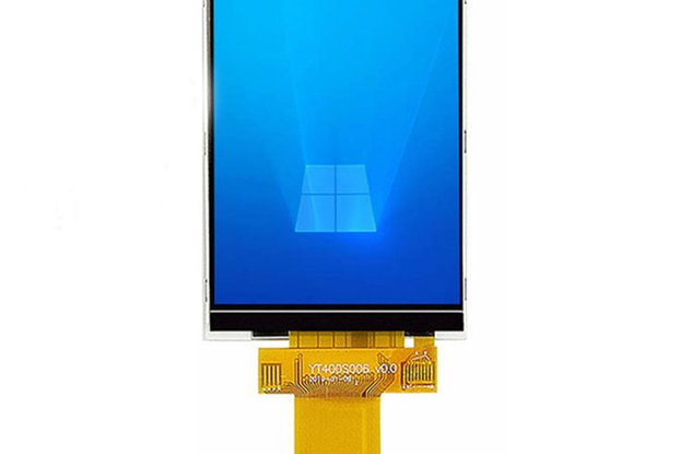 4.0inch TFT LCD Touch Display 320*480_GY18309