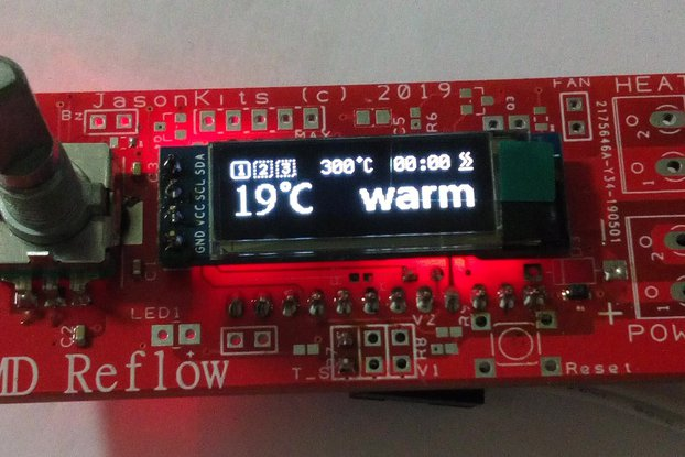 SMD Reflow HOT Plate Controller