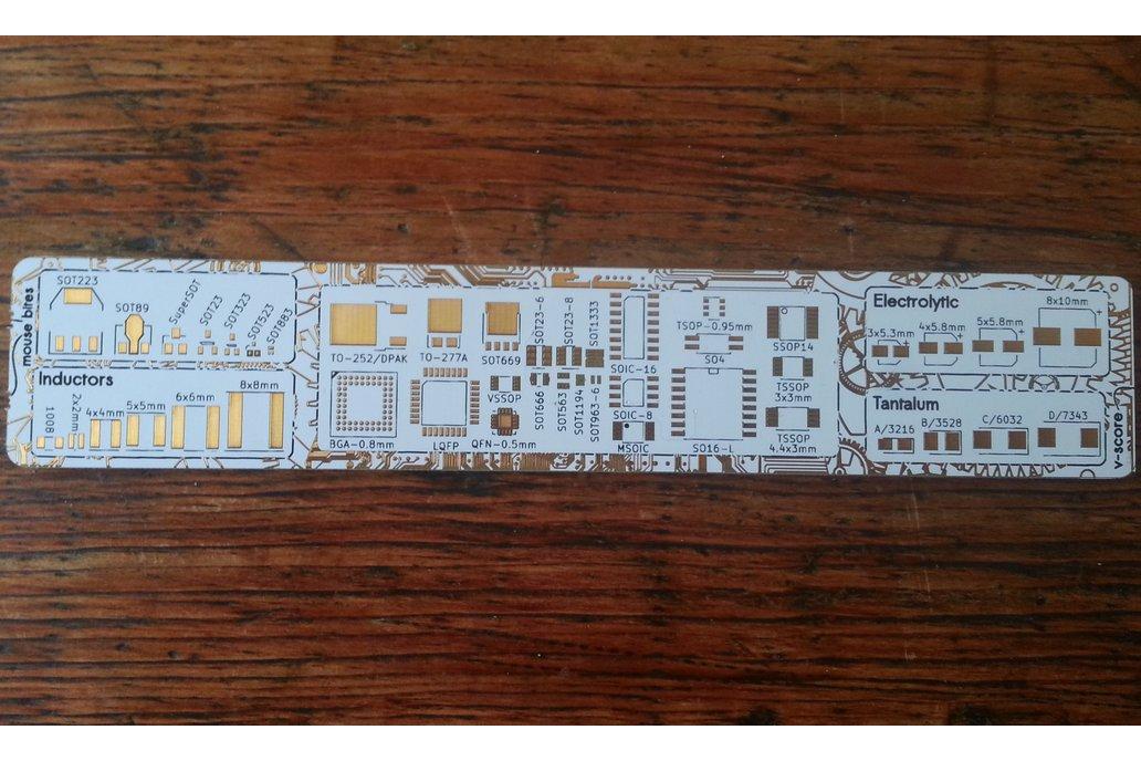 Kitspace PCB Ruler 2