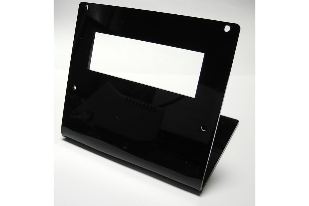 16x2 Acrylic LCD Stand Black 1