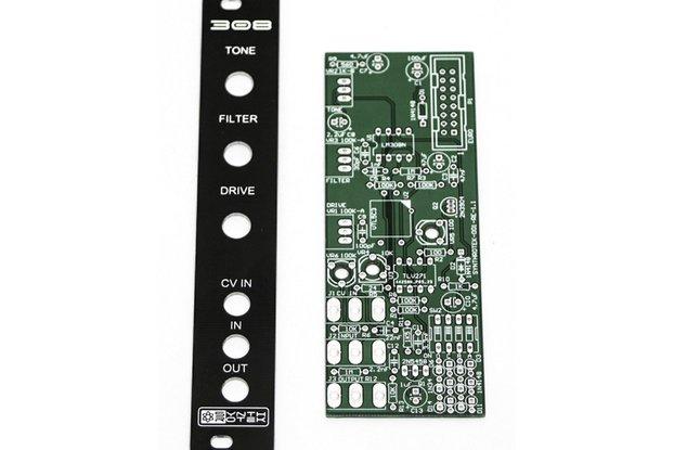 308 Distortion Eurorack Module PCB & Panel