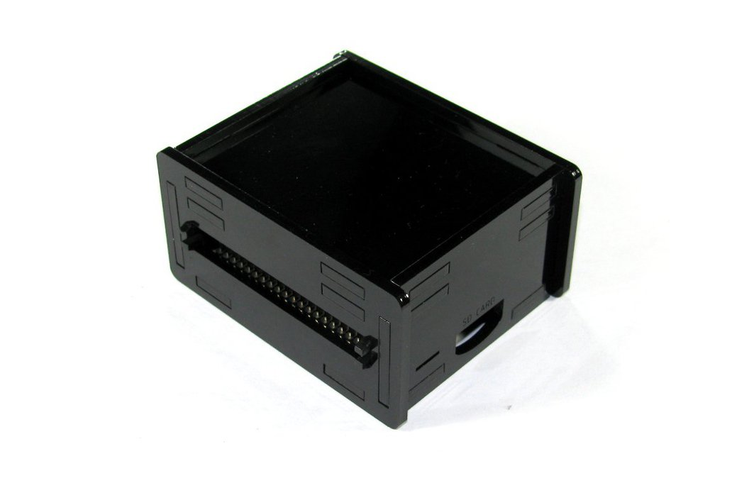 Black Raspberry Pi A+ Case 1