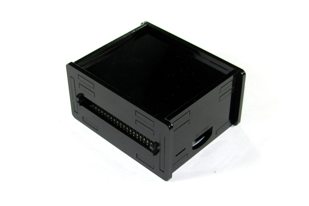 Black Raspberry Pi A+ Case 1