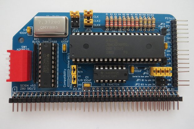 SC104 Z80 SIO/2 Module Kit for RC2014