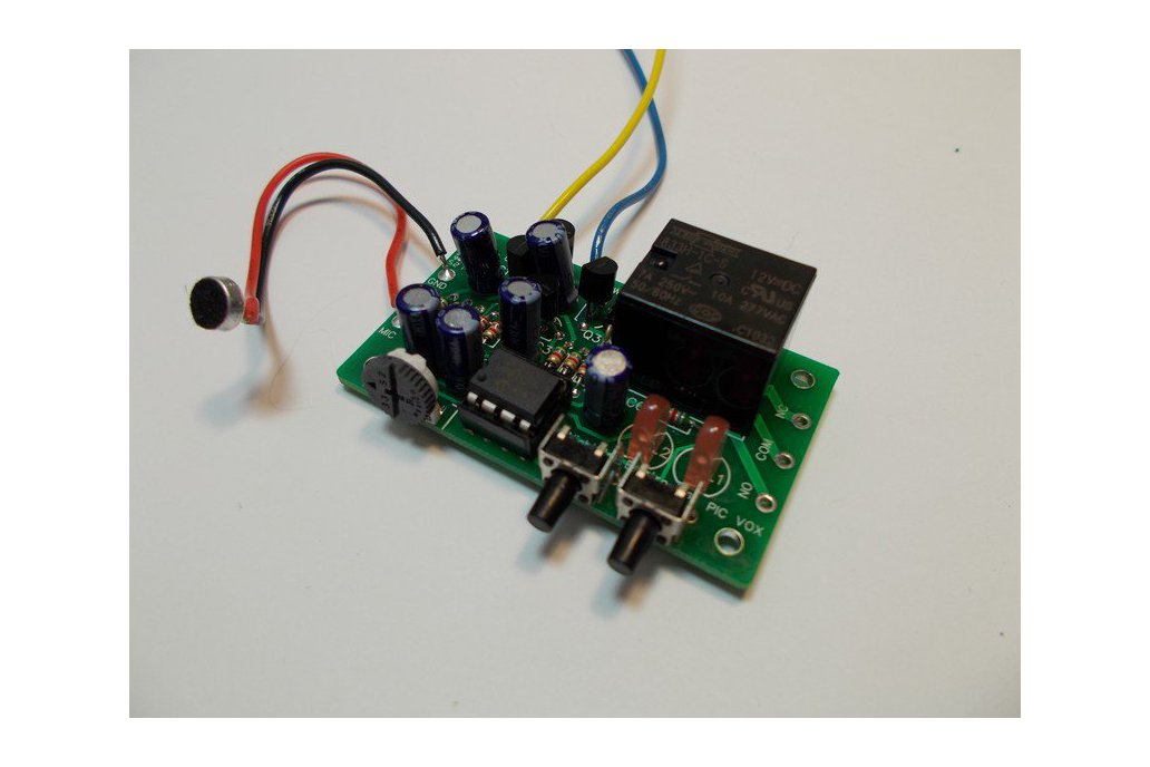 Sound Controlled Relay Kit - 9v (#5622) 1